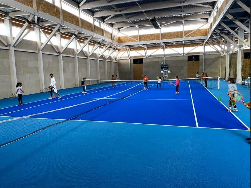 Découverte du Tennis à l'école Edouard Herriot